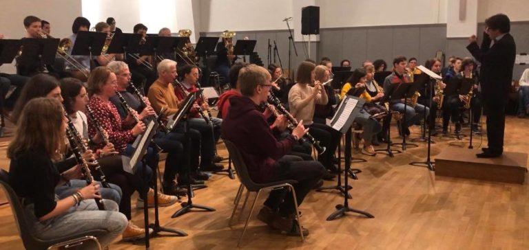 Concert Théléton 2019 - Orchestre d'harmonie