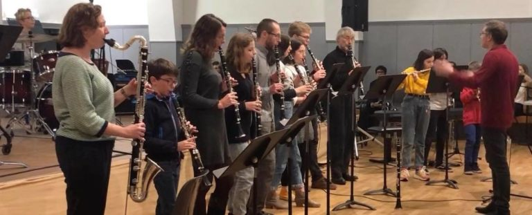 Concert Théléton 2019 - Ensemble de clarinettes